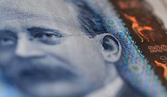 Gjennomsnittlig månedslønn er 43 540 kroner