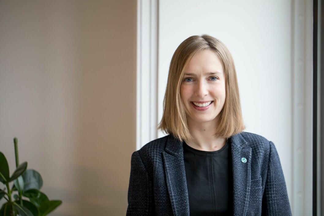 Forsknings- og høyere utdanningsminister Iselin Nybø. (Foto: Marte Garmann)