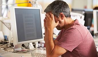Slik hjelper du en kollega som er rammet av stress