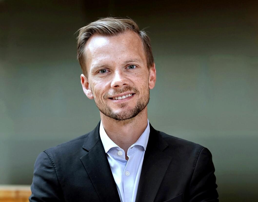 Peter Hummelgaard Thomsen er arbeidsminister i Danmark. (Foto: Keld Navntoft)