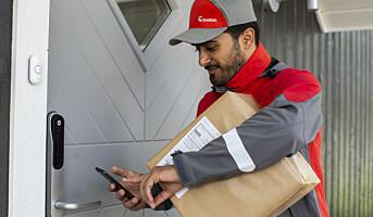 Over 400 prosent økning i hjemlevering med Posten