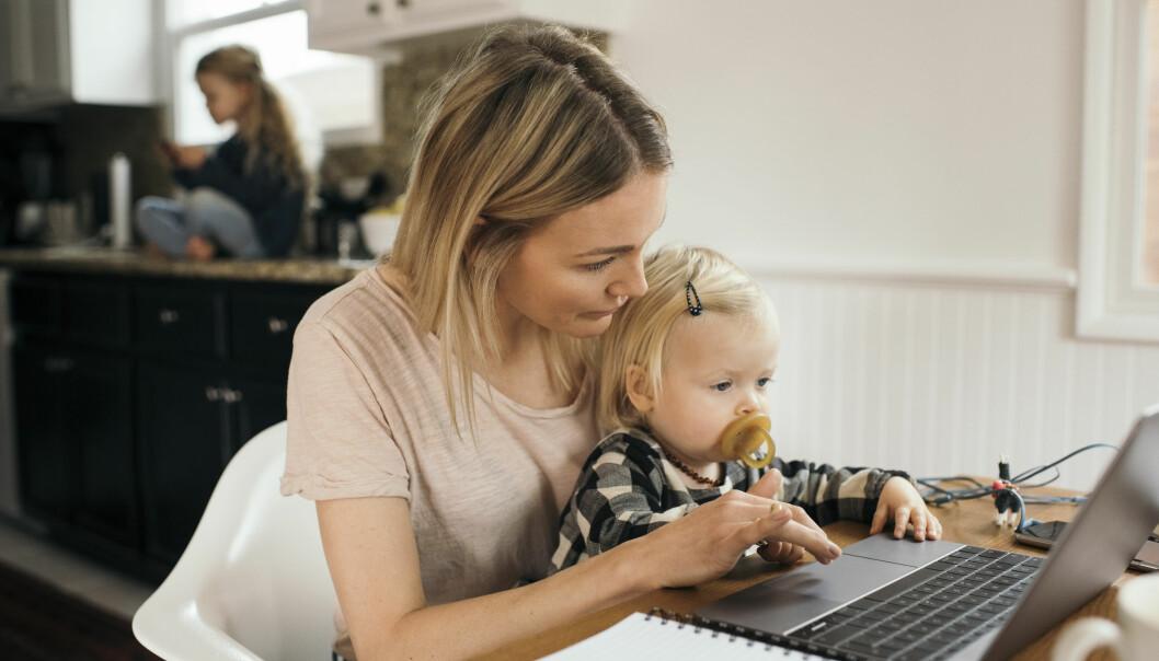 Flere permitterte kvinner vurderer mer utdanning og ny karriere.
