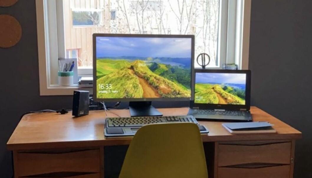 Sørg for at de har en ergonomisk best mulig arbeidsplass, med for eksempel regulerbar arbeidsstol, god belysning og stor nok og regulerbar dataskjerm, er oppfordringen fra Arbeidstilsynet. Du som leder må følge opp dine ansatte også på dette punktet.
