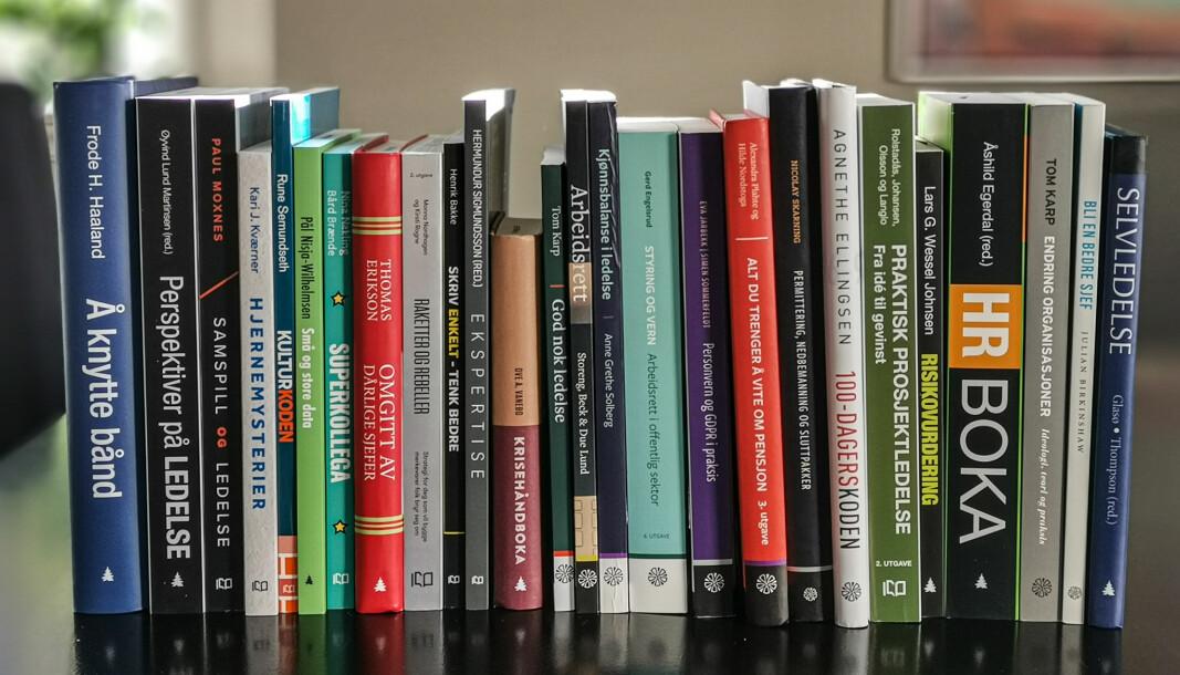 Fagbøker står fortsatt sterkt, mener artikkelforfatter Even Bolstad, daglig leder i HR Norge.