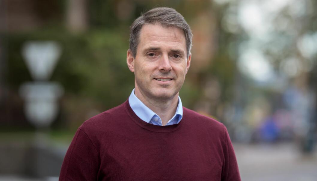 Ivar Horneland Kristensen, administrerende direktør i Virke, handels- og tjenestenæringens hovedorganisasjon.