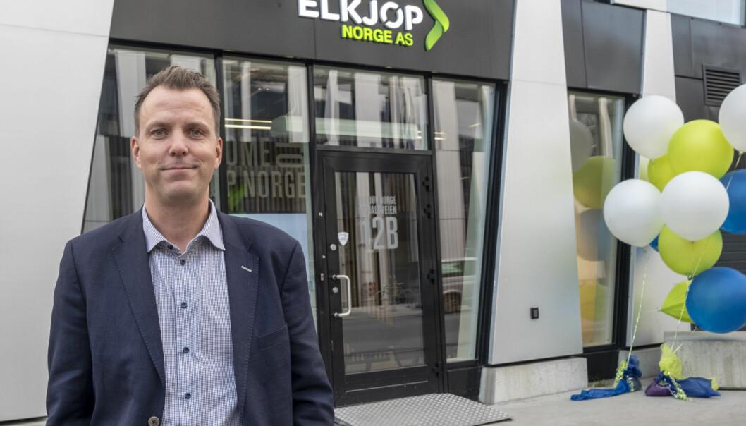 På under ett år Elkjøp rekruttert én million lojale kunder. Merkevaresjef Marius Klemo i Elkjøp Norge er veldig godt fornøyd.
