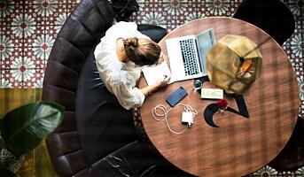 Hotellene lager en arbeidsplass for deg