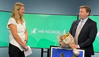 HR Norges lederpris til Espen Rostrup Nakstad
