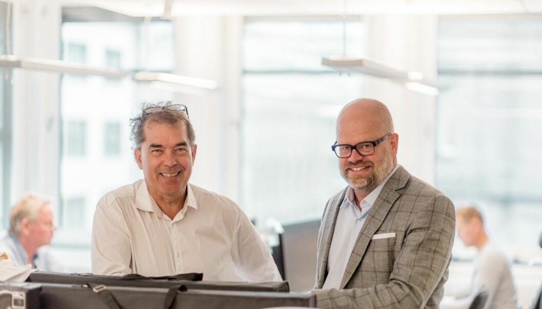 Harald Djupvik, Kantar (til venstre) og Even Bolstad (HR Norge).