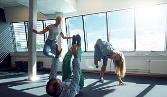 Norges Bedriftsidrettsforbund lanserer ny aktivitetskampanje: Kollegamosjon