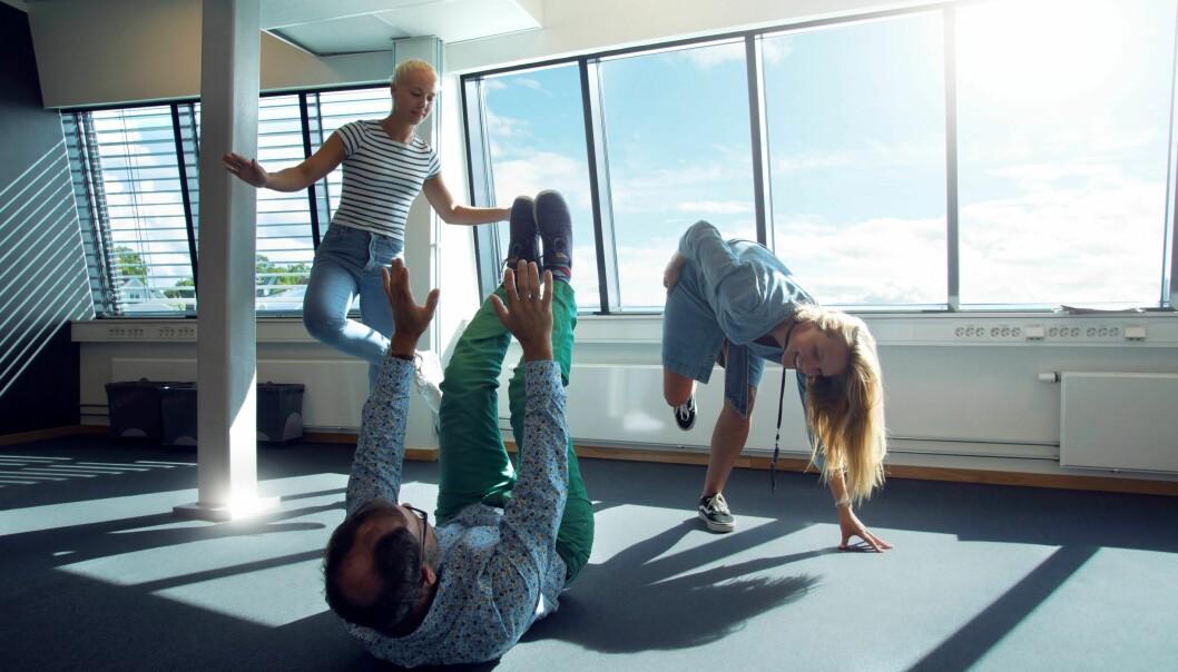 Kollegamosjon er inkluderende for alle, og kan gi motivasjon og samhold for hele kollegiet.