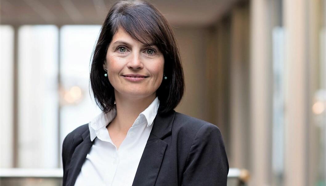 Lene Eltvik Vindfeld, ny leder for organisasjon, lederskap og kultur i Sbanken.