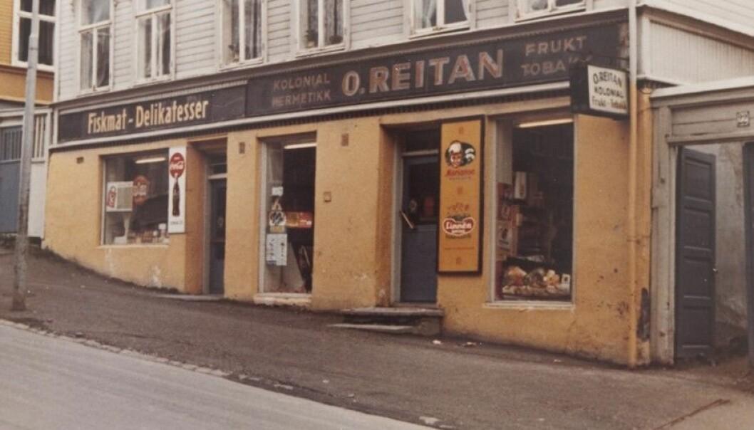 Eventyret startet med O. Reitan Kolonial i Nonnegata i Trondheim den 2. mai 1948.