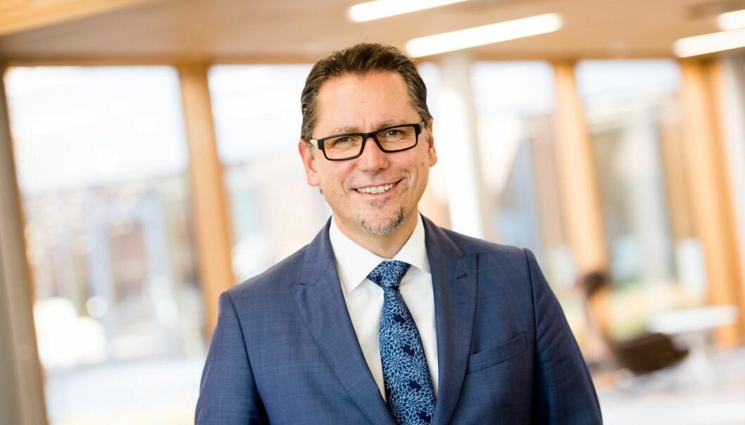 Remi Eriksen, konsernsjef og administrerende direktør for DNV GL som fra 1. mars heter DNV.