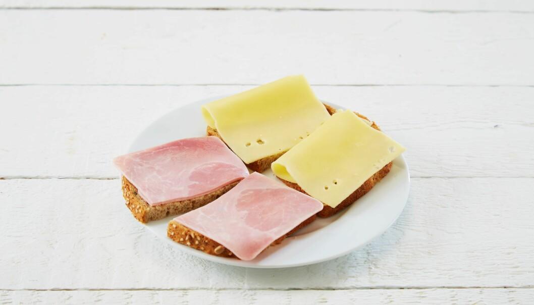 Ser lunsjen din slik ut? Lei trauste brødskiver?