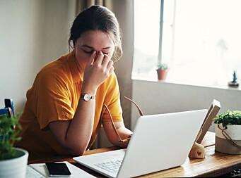 LEDERE under 40 år sliter mest på hjemme-kontoret