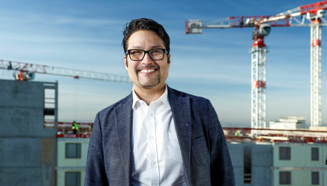Konsernsjef i OBOS, Daniel Kjørberg Siraj.