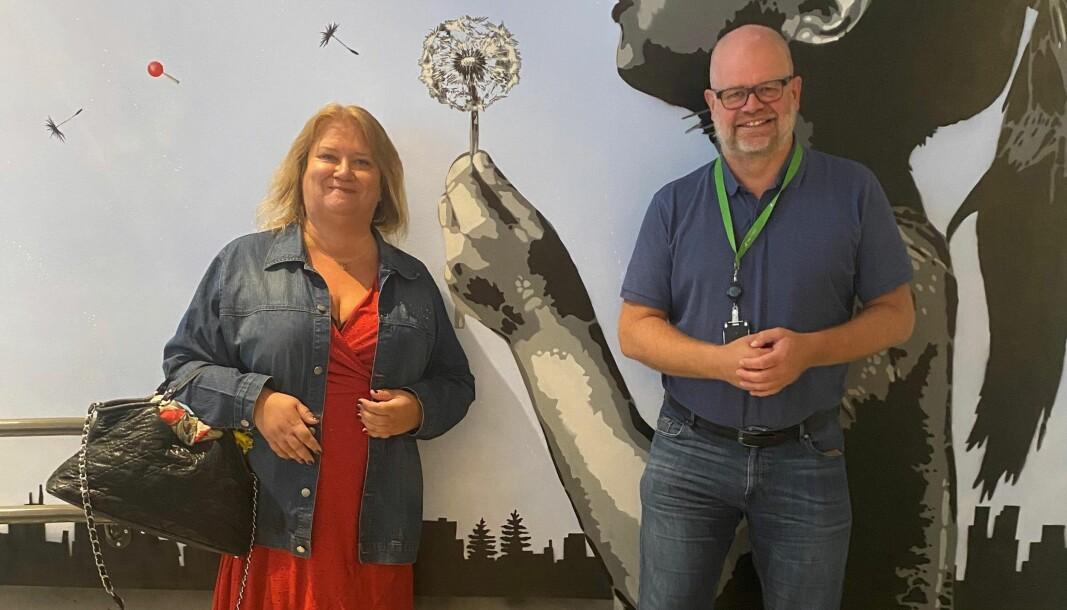 Kari Bergeius Andersen og Even Bolstad.