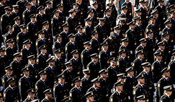 Jobbtall: Stort løft for nyutdannet politi