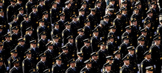 Stadig flere nyutdannede har fått jobb i politiet