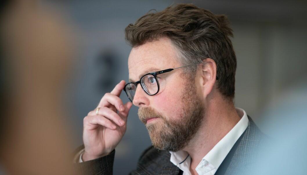 Statsråd Torbjørn Røe Isaksen i Arbeids- og sosialdepartementet.