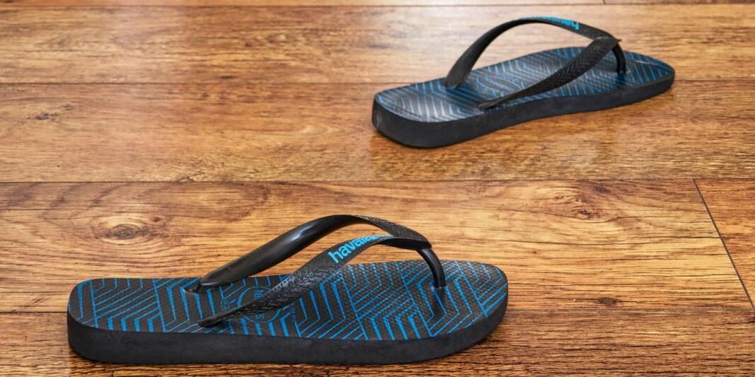 Slippers og joggebukse?