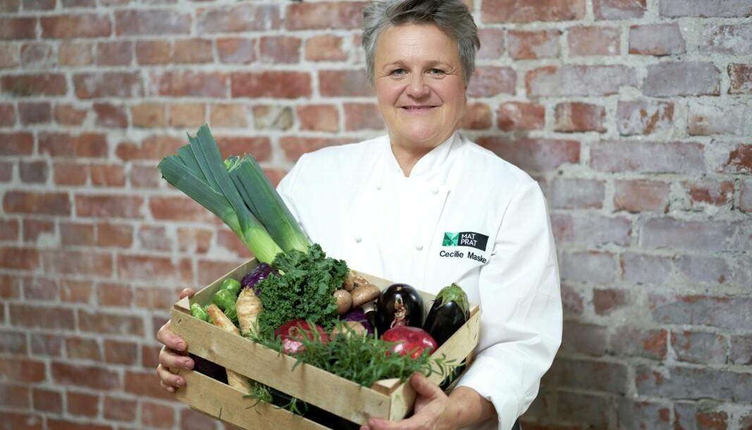 MatPrat-kokk Cecilie Maske har mange enkle og gode råd til alle som skal lage mat på hjemmekontoret.