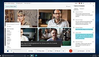 Cisco lanserer sanntid-oversettelser av videomøter