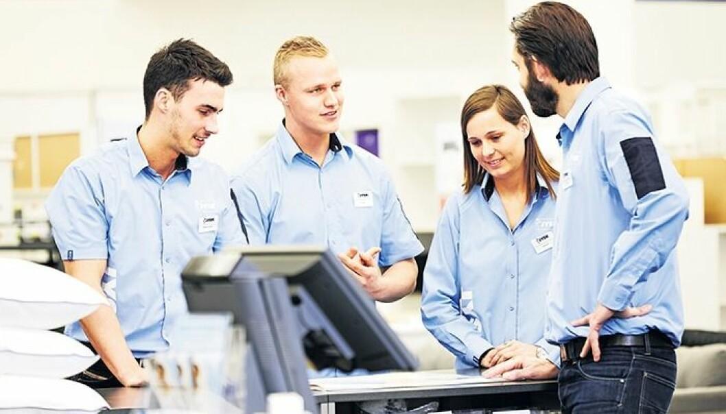 Selskapet har store forventninger til den nye satsningen, og de nye talentene som vil vokse i JYSK.