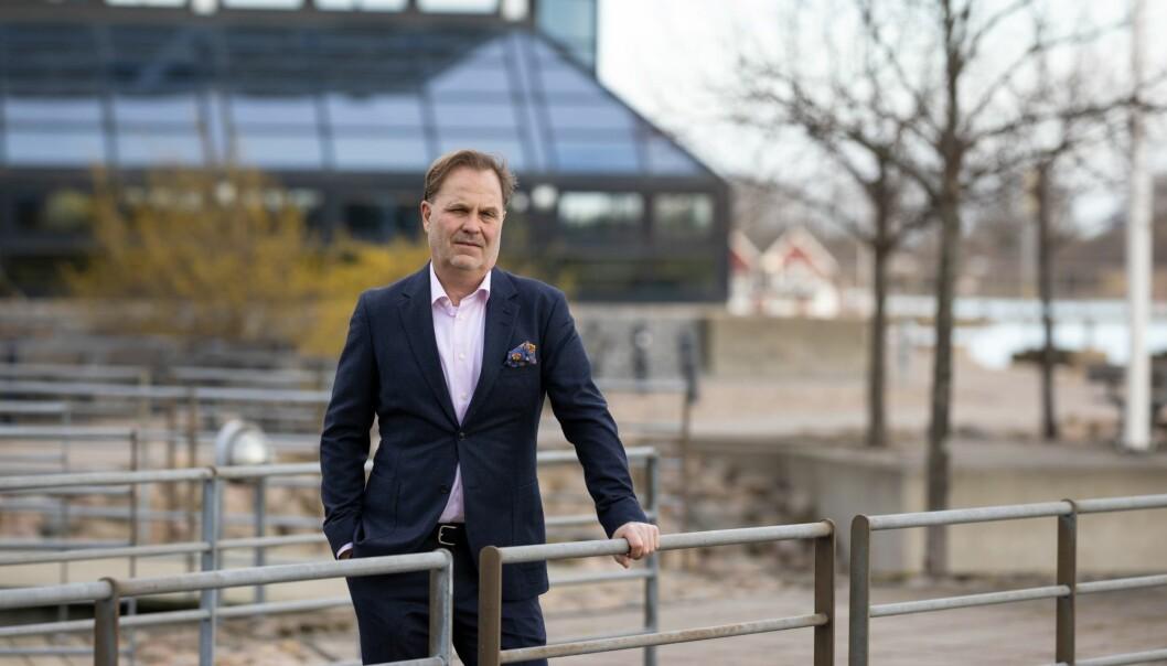 Adm. direktør Morten Nordvold i Atradius varsler økonomisk oppgang og konkursbølge.