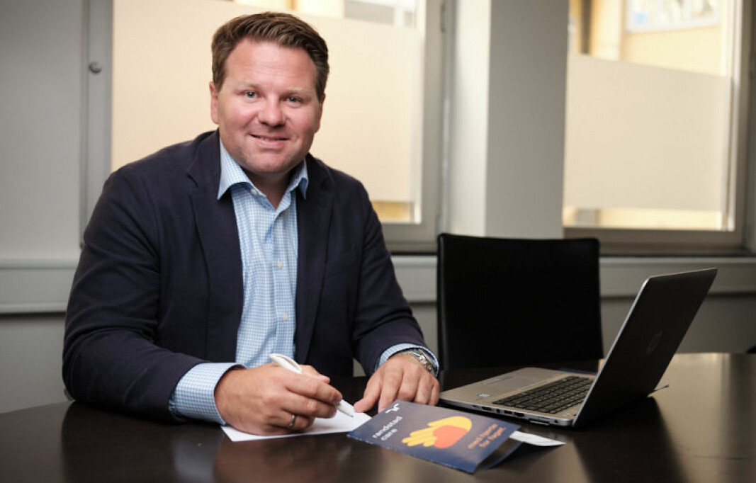 Daglig leder i Randstad Care, Lars E. Jacobsen.