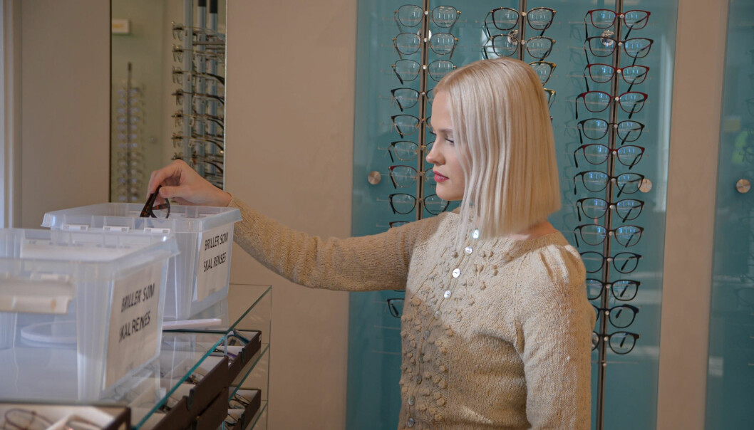 Optikerbransjen holder åpent med gode smitteverntiltak på plass.