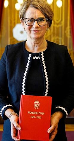 Ny utgave av Norges Lover