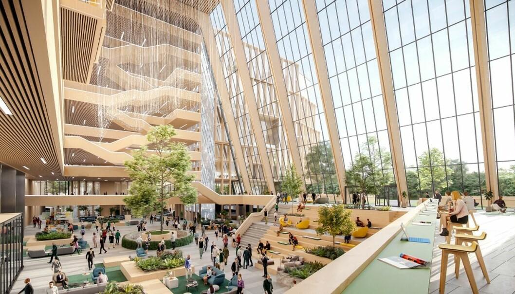 Construction City skal bygges på Ulven i Oslo.