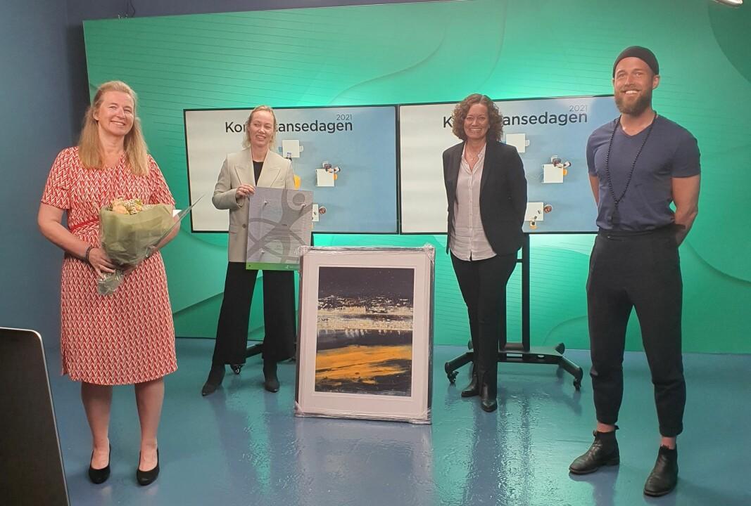 Fra venstre: Tove Selnes, Siri Langangen, Wenche Mittet og Christoffer Hovde.