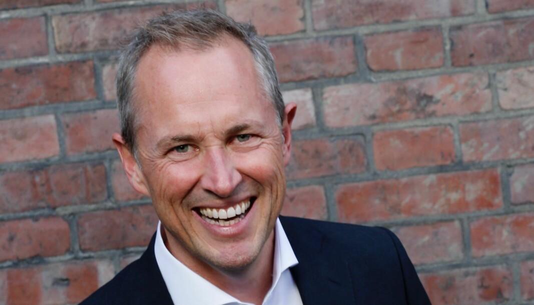 Forfatter Per Henrik Stenstrøm, mangeårig journalist, redaktør og leder.