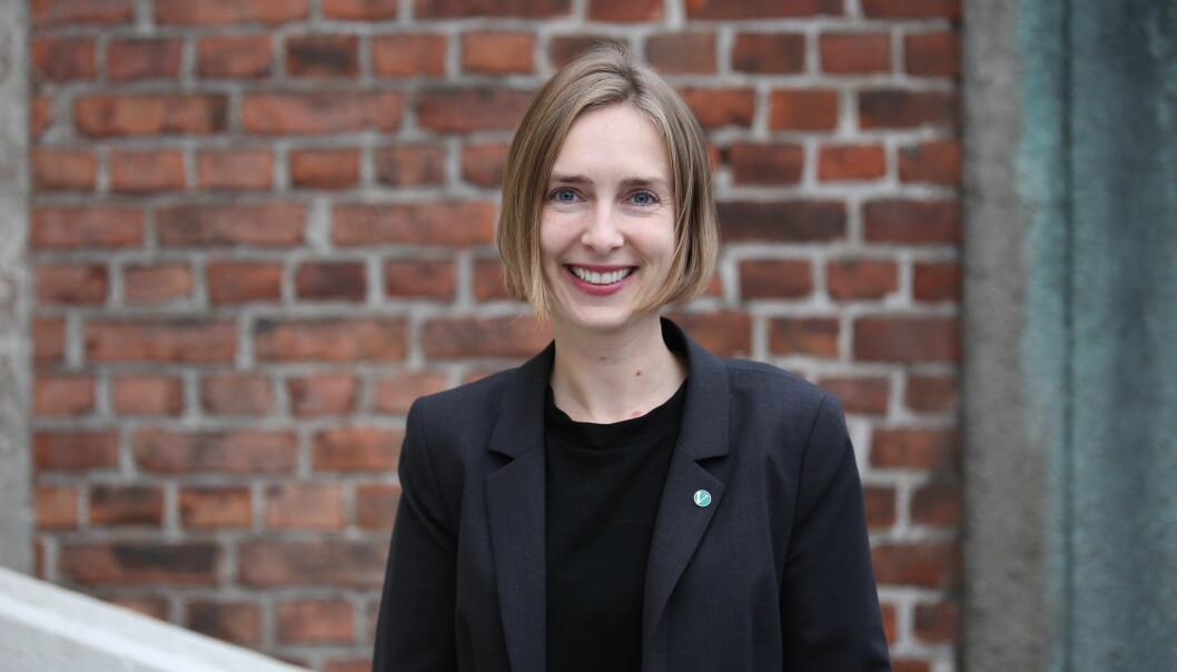 Næringsminister Iselin Nybø.
