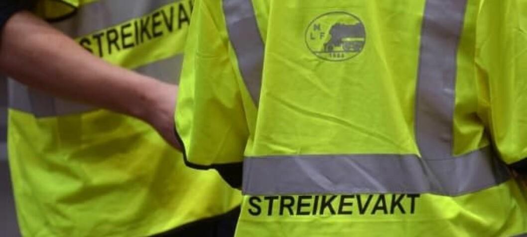 Streiken: Gir ikke rett til fri